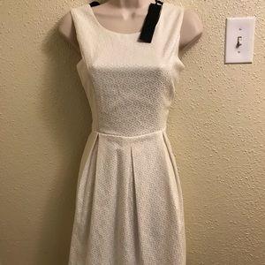 C.luce white lace dress size small